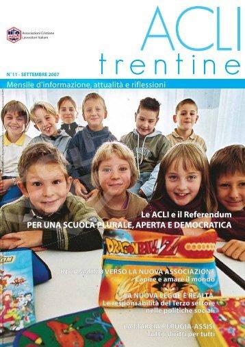 Acli Trentine SETTEMBRE 2007