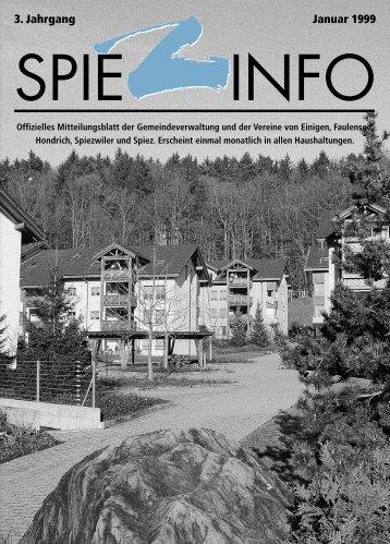 01januar spiezinfo99 - in Spiez
