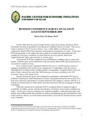 PCEI Technical Report Issue #6 (Business Confidence) - Sept 2009