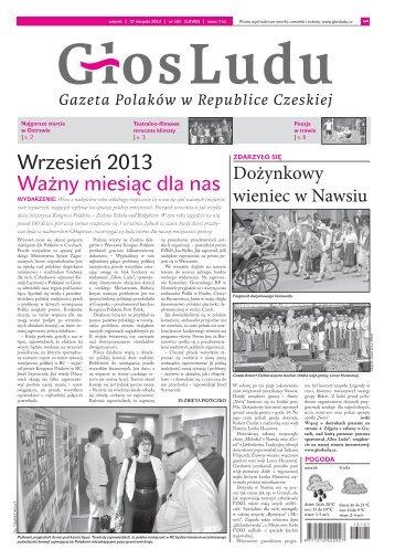 Wrzesień 2013 Ważny miesiąc dla nas - Głos Ludu