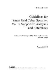 NISTIR-7628 - Guidelines for Smart Grid Cyber Security