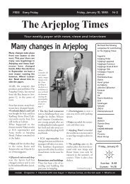 What's on - Arjeplog Times