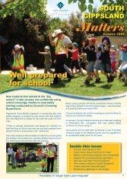 Matters - South Gippsland Shire Council