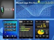PhoneUsage Pro Key - RunMob