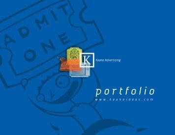 portfolio - keane advertising