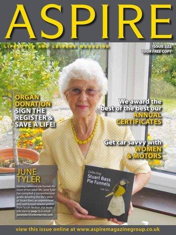 June Tyler - Aspire Magazine