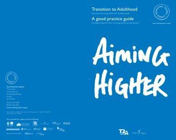 Aiming Higher - Social Welfare Portal