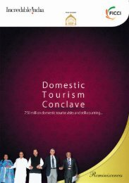 Post Conference Report on Domestic Tourism Conclave 2011