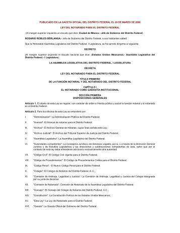 Artículo 119 de la Ley del Notariado - Testamentos
