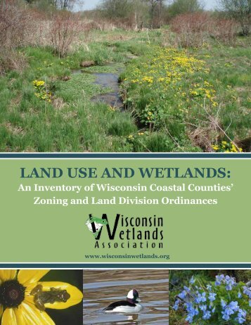 Land Use and Wetlands: An Inventory of Wisconsin Coastal Counties
