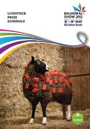 livestock prize schedule - young farmers ambassadors of the united ...