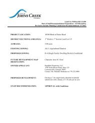 City of Johns Creek Planning Commission May 7, 2013 RZ-13-004 ...