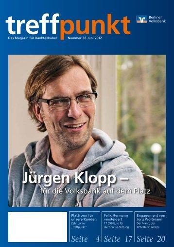 Ausgabe Nr. 38 (Juni 2012) - Berliner Volksbank