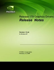 Release Notes - Nvidia's Download site!!