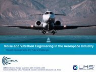 Noise and Vibration Engineering in the ... - LMS International