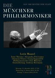downloaden - Münchner Philharmoniker