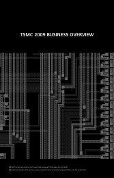 2009 Business Overview - TSMC