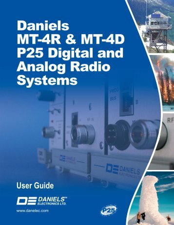 UG-001-2-0-1 MT-4R and MT-4D User Guide.indd - Daniels ...