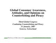 Global Consumer Awareness, Attitudes, and Opinions on ...