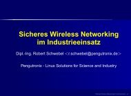 Wireless Networking Vortrag - Robert Schwebel