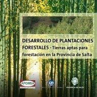 Cartilla Desarrollo de Plantaciones Forestales - Fundación ProYungas