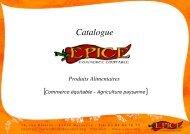 Produits Epice : THE catalogue - Kiagi.org