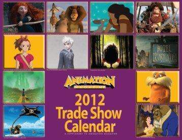 Trade Show Info - Animation Magazine