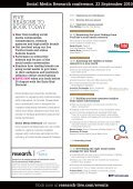 Social Media Research Programme - Research-live.com - Page 2