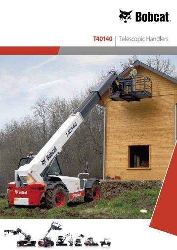 T40140 | Telescopic Handlers - Bobcat