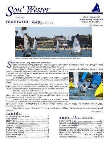July 2010 - Alamitos Bay Yacht Club
