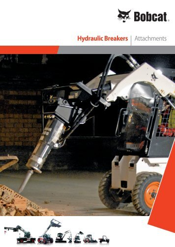 Hydraulic Breakers | Attachments - Bobcat