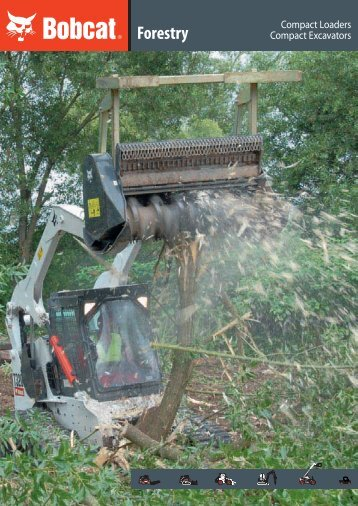 Forestry - Brochure - Bobcat