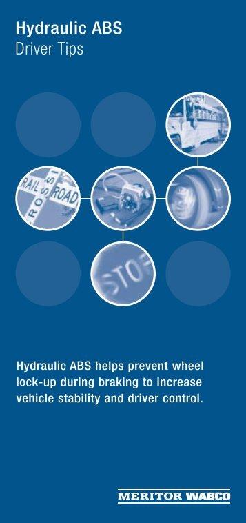 Anti lock braking systems abs for trucks meritor wabco abs driver tipsxps meritor wabco sciox Choice Image