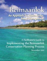 Reimaanlok field guide - Sea Grant College Program