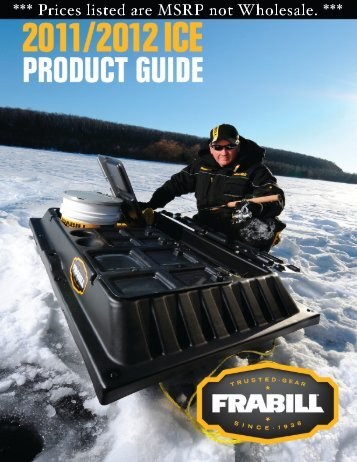 Download Frabill Products PDF Catalog - Merrick Tackle