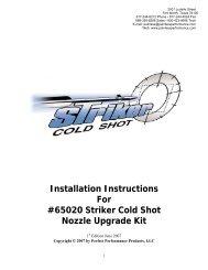 Water/Methanol Nozzle Upgrade Kit - Painless Wiring