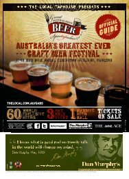 GABS Tasting Booklet - The Local Taphouse