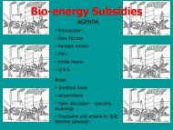 Introduction to Bioenergy Subsidies - Biofuelwatch