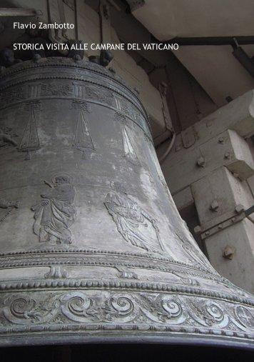Storica visita alle campane del Vaticano - Campanologia