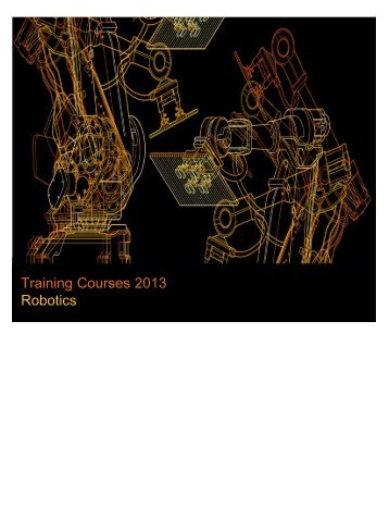 Training Courses 2013 Robotics - ABB
