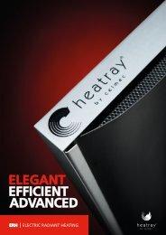 ELEGANT EFFICIENT ADVANCED - Heatray Patio Heaters