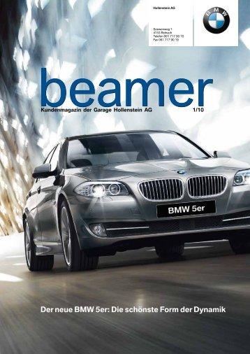Der neue BMW 5er - Garage Hollenstein AG