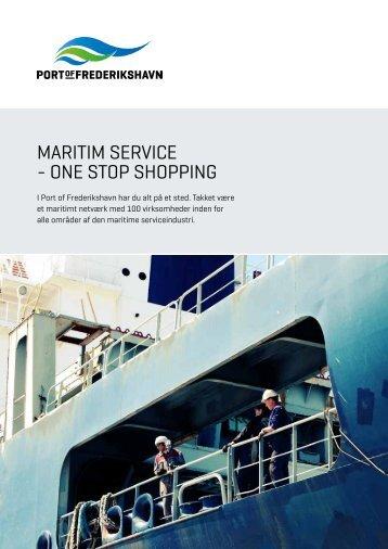 Maritim serviceindustri - Frederikshavn Havn