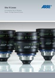 ARRI Brochure Ultra 16 Lenses - Carl Zeiss, Inc.