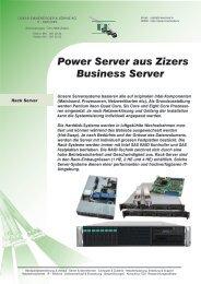 Rack - Server - Oskar Emmenegger & Söhne AG, IT