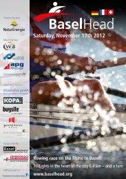 Saturday, November 17th 2012 Rowing race on the ... - BaselHead