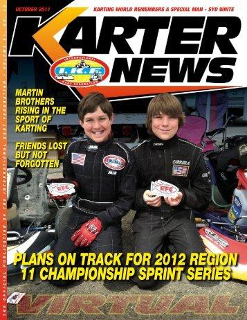 October 2011 - International Kart Federation
