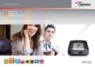 Pocket a Pico and start sharing today - Optoma Europe