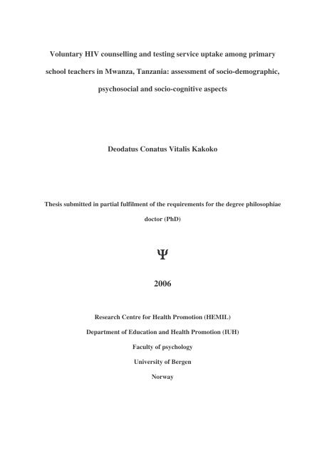 Phd thesis 2006 short essay on our universe