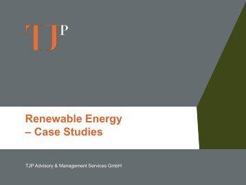 Case Studies - TJP Advisory & Management Services GmbH